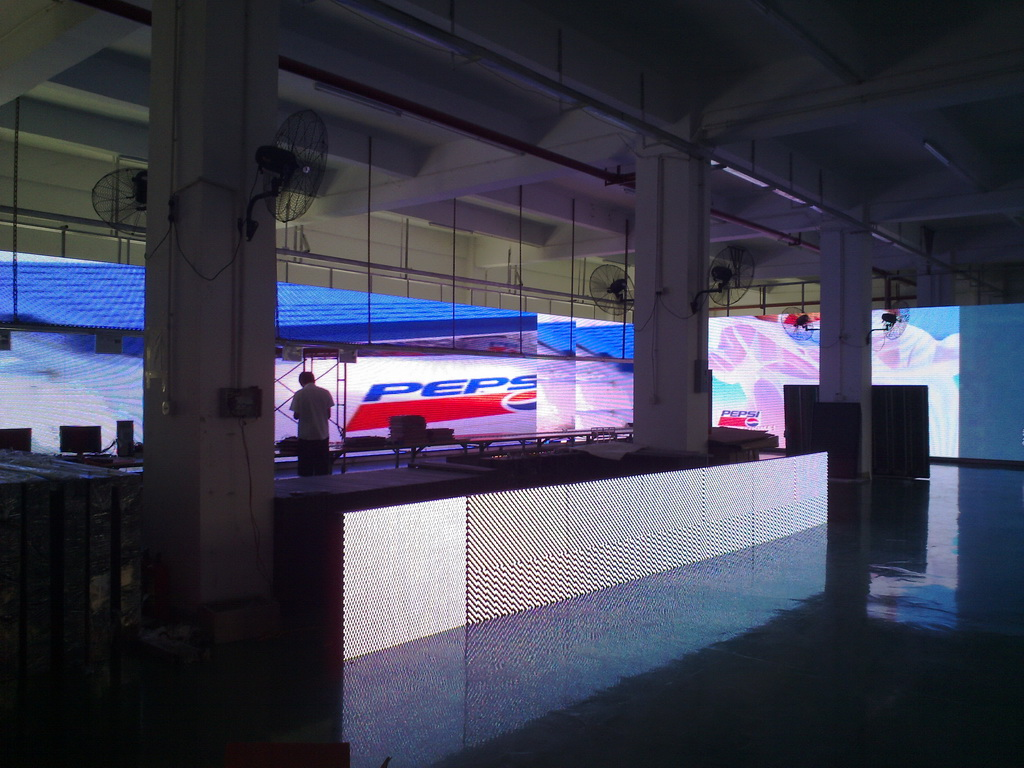 led display screen EXPO fair