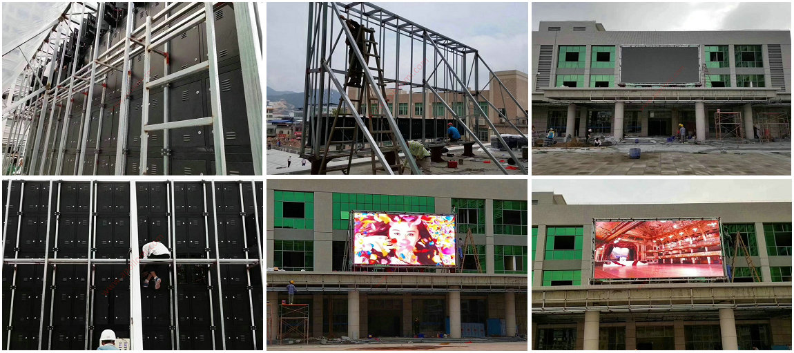 LED Display Installation