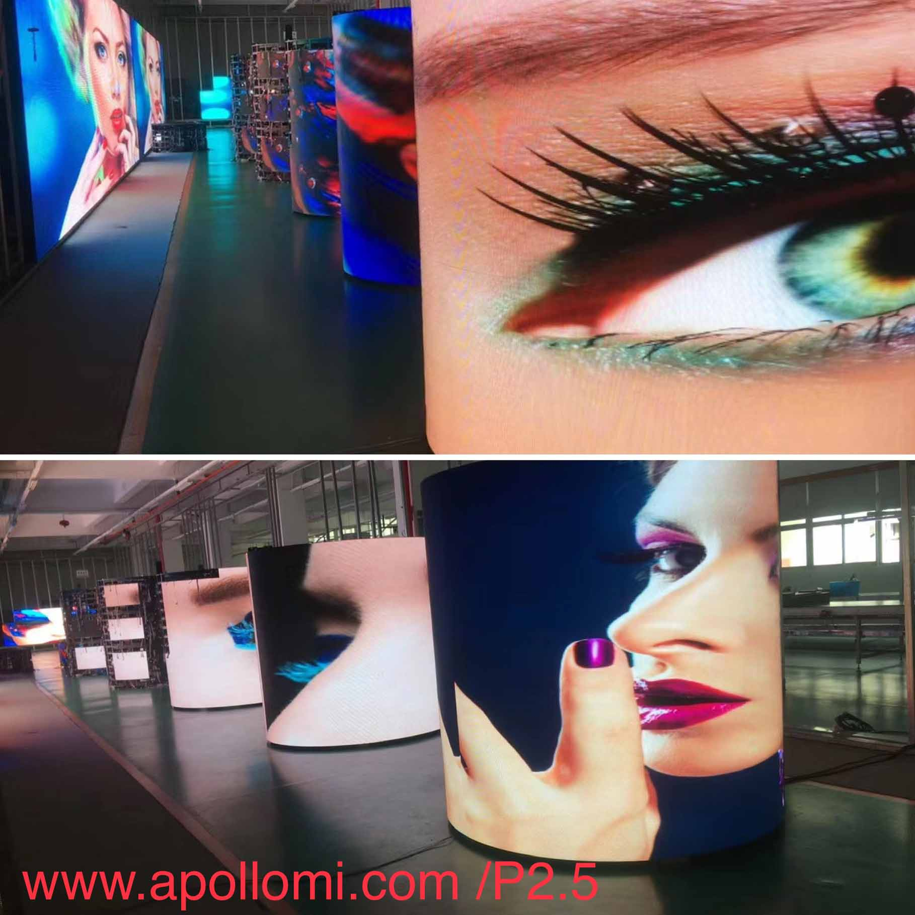 Flexible Soft LED Screens
