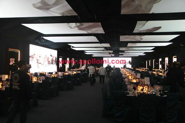 PH7.62mm indoor stage background led display