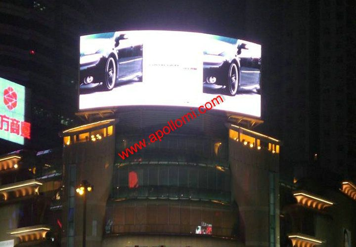 Italy 32SQM 10mm Outdoor HD Arc Curve LED Display
