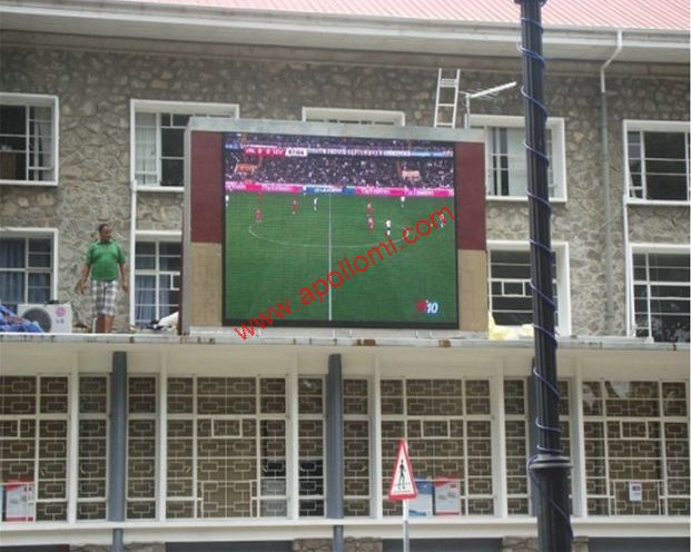 Brazil 16sqm P10 sports rental led signs