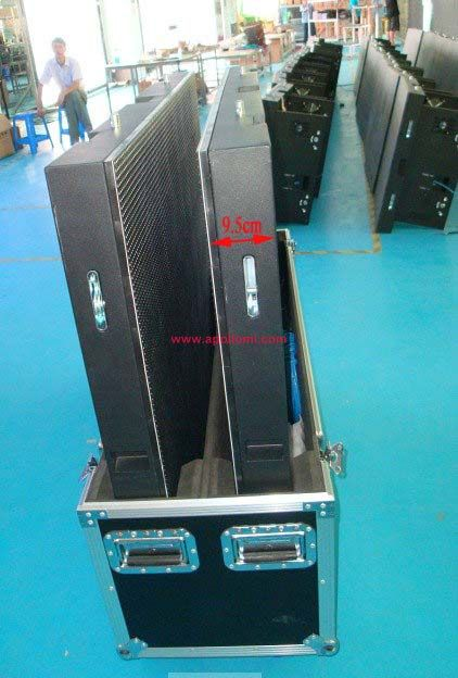 APOLLOMI indoor thickness rental led screen cabinets