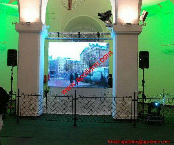 Netherlands P10 6SQM Indoor Rental Video LED Panel