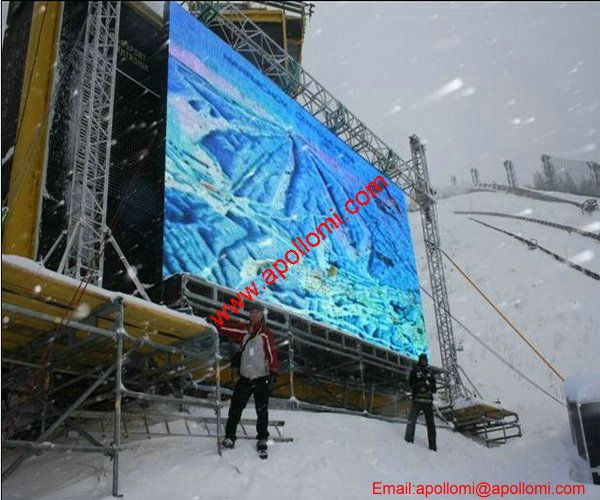 Czech 20SQM P10 Outdoor Rental LED Display