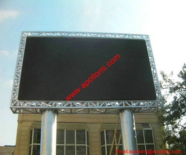 Argentina 38SQM P16 Pole Advertising LED Display