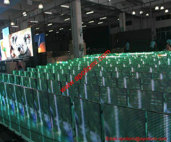 USA 360SQM Outdoor P8mm Video LED Display Delivery