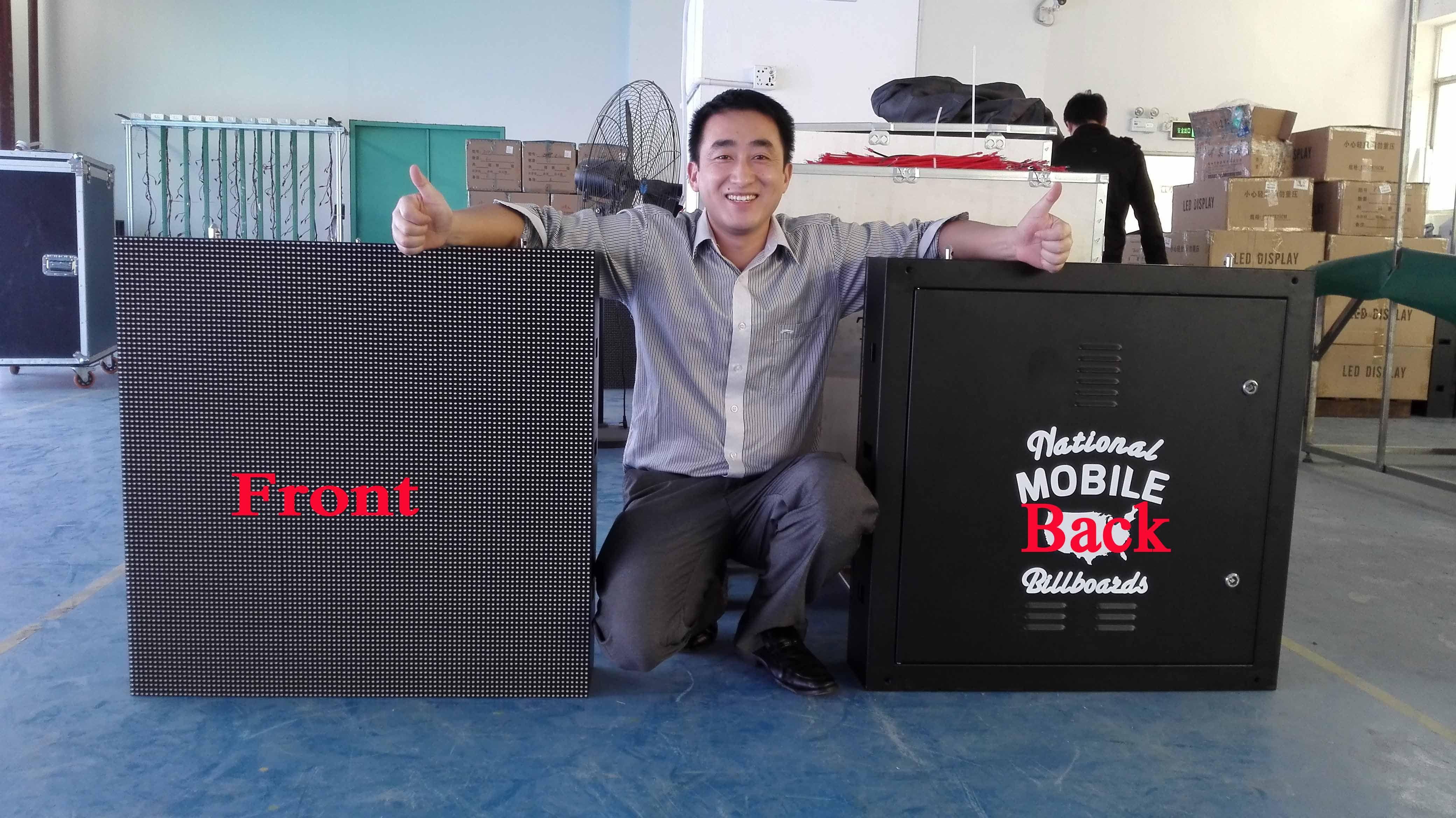 APOLLOMI outdoor Waterproof LED Display cabinets