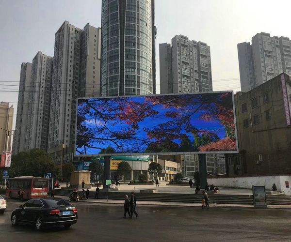 Taiwan Big Square P8 Video LED Display